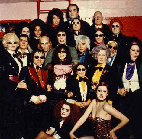 Le cast du Rocky Horror Picture Show